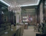 Governor's private office in the Capitol in Montgomery, Alabama.