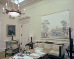 Office of executive secretary Elvin Stanton in the Capitol in Montgomery, Alabama.