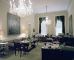 Reception area in the governor's suite in the Capitol in Montgomery, Alabama.
