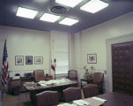 Finance director's office in the Capitol in Montgomery, Alabama.