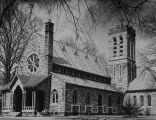 Copy photograph of the Grace Episcopal Church in Anniston, Alabama.