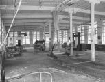 Interior of the Montgomery Cotton Mills at 218 May Street in Montgomery, Alabama.