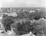 View of downtown Montgomery, Alabama, from the dome of the Capitol.