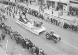 Walker County float in Governor Jim Folsom's inaugural parade on Montgomery Street in downtown...
