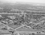 Aerial view of the Riverview Manufacturing Plant on Shady Street on the Alabama River in...