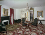 Parlor at the First White House of the Confederacy in Montgomery, Alabama.