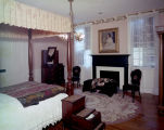 Varina Howell Davis's bedroom at the First White House of the Confederacy in Montgomery, Alabama.