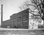 Old steam plant of the Alabama Power Company by the Alabama River on Shady Street in Montgomery,...