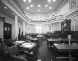 Senate chamber at the Capitol in Montgomery, Alabama.