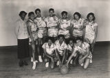 Girls' basketball team at either the Alabama State Laboratory High School or Alabama State College...