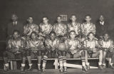 Boys' basketball team at the school that would become Alabama State University in Montgomery,...