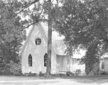 St. Thomas Episcopal Church at 19030 Center Street in Citronelle, Alabama.