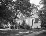 St. James Episcopal Church at 200 Spring Street in Livingston, Alabama.