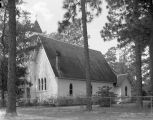 St Paul's Episcopal Chapel in Magnolia Springs, Alabama.