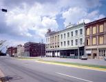 Buildings on Commerce Street in downtown Montgomery, Alabama, at the intersection with Tallapoosa...