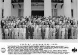Members of the Alabama legislature on the steps of the Capitol in Montgomery, Alabama.
