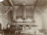 Interior of the Court Street Methodist Church in Montgomery, Alabama.