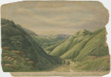 """The Valley of Ghinda, from Baaraza."""