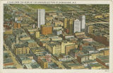 """A View From the Skies of the Business Section of Birmingham, Ala."""