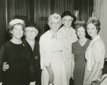 Lurleen Wallace with members of the Golden Age Club in her office at the Capitol in Montgomery,...