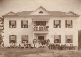 Students, faculty, and staff at the South Alabama Institute in Thomasville, Alabama.