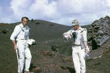 Photographs taken by Bill Wood of Apollo 14 astronauts on a geological study trip in Mexico.