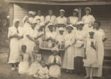 Members of the Willing Homemakers Club in Rosedale, Alabama.