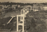 Construction of the Tallapoosa River Bridge in Tallassee, Alabama.