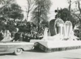 Colbert County float in the inaugural parade of Governor Lurleen Wallace in Montgomery, Alabama.