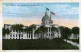 """Front View of State Capitol, Montgomery, Ala."""
