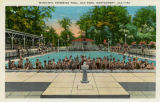 """Municipal Swimming Pool, Oak Park, Montgomery, Ala."""