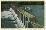 """Mitchell Dam on the Coosa River, near Montgomery, Ala. Installed Capacity, 76,000 Horse..."