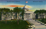 """The State Capitol of Alabama, Montgomery, Alabama"""