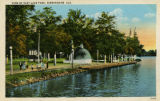 """View of East Lake Park, Birmingham, Ala."""