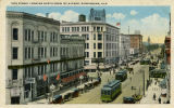 """19th Street Looking North From 1st Avenue, Birmingham, Ala."""