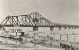 """Draw Bridge, Tennessee River, Albany-Decatur, Ala."""