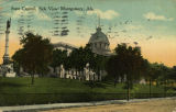 """State Capitol, Side View Montgomery, Ala."""