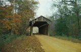 """Pea Ridge Covered Bridge over Wacoochee Creek, Lee County, Alabama."""