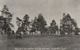 """Valley Country Club House, Albany, Ala."""