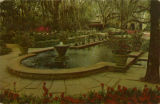 """Scene in Bellingrath Gardens, Mobile, Alabama."""