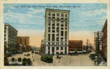 """Court Square and First National Bank Bldg., Montgomery, Ala."""