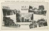 """All-States Cottages - Athens, Alabama. Located in south city limit on U.S. 31 and 72."""
