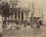 Students at Athens Female College in Athens, Alabama.