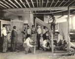 """Smith-Hughes class in carpentry, Tuskegee Institute, Ala."""
