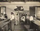 """Smith-Hughes class in carpentry, Tuskegee Inst., Ala."""