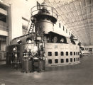 """The Wilson Dam powerhouse has 9 generating units, including one small auxiliary unit, that..."