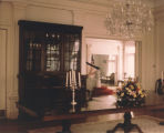 Dining room of the Governor's Mansion in Montgomery, Alabama.