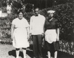 Three servants of the Ligon family, including Katye Randolph, the cook, and Elwood Cottrell, the...