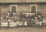 """A fair sample of one of the small colored public schools of Lowndes County, with only one..."
