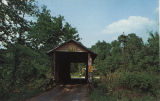 Coldwater Covered Bridge, west of Oxford, Alabama.